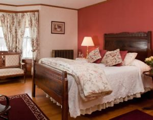 The Walnut Room at the White Oak Inn -- return here after visiting Millersburg Brewing