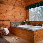 Log Cabin Jacuzzi