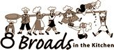 8 Broads in the Kitchen logo