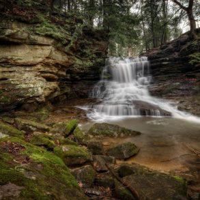 Honey Run Falls in Ohio