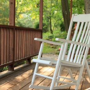 White Oak Inn's Front Porch with Rocking Chair