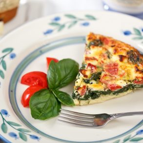 Breakfast Quiche at The White Oak Inn