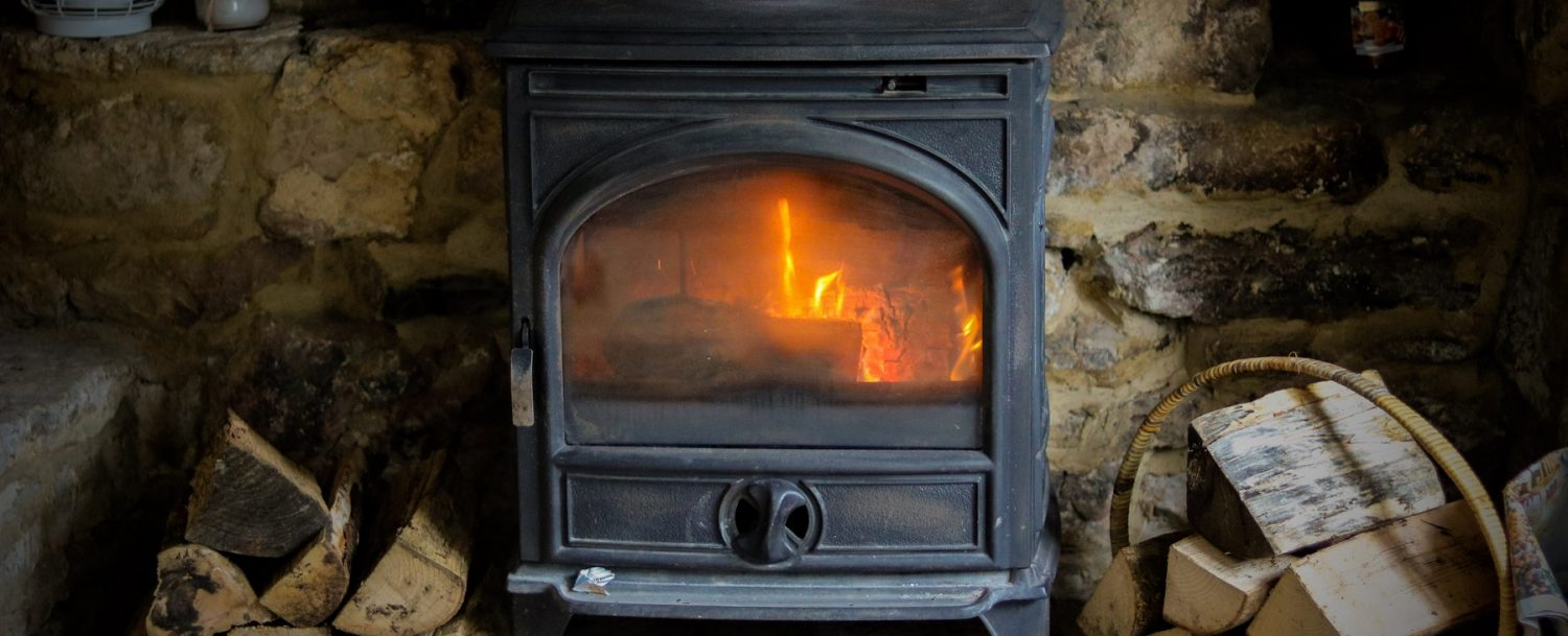 Cotswolds cottage log burner